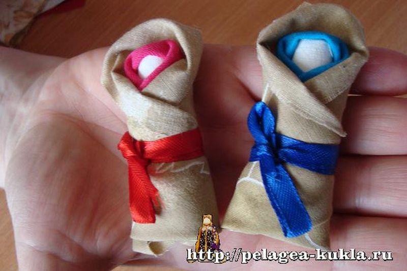 Как сделать своими руками куклу пеленашку
