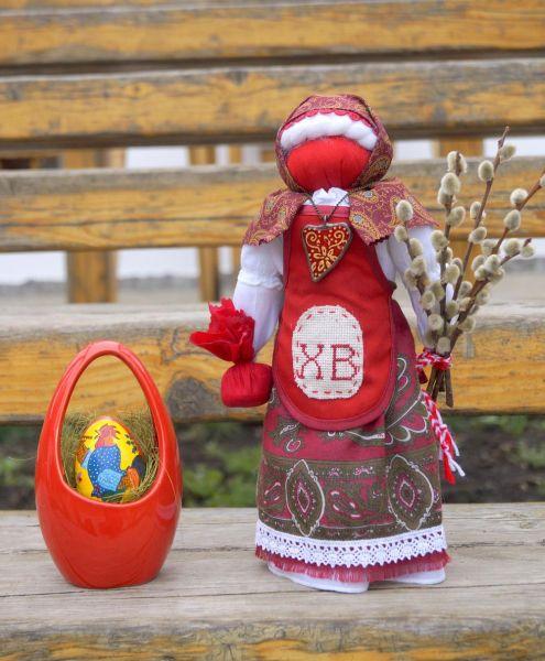 Кукла на яйцо мастер класс